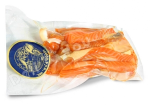"""European Style Fish"", Cold Smoked Salmon Belly, Approx. 1Lb"