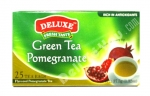 """Deluxe"", Fresh Taste, Pomegranate Tea, 25 bags, 1.32oz/37.5g"