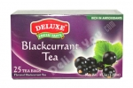 """Deluxe"", Fresh Taste, Blackcurrant Tea, 25 bags, 1.32oz/37.5g"