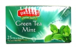 """Deluxe"", Fresh Taste, Green Tea Mint, 25 bags, 1.32oz/37.5g"