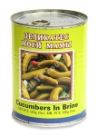 "Cucumbers in Brine ""Delicates Moeiy Mamy"", 19oz/540g"