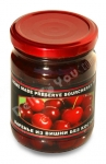 Home Made Preserve Sourcherry Pitted (Varenie is Vishni Bez Kostochek), 500g