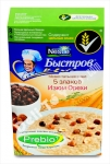 """Bistrov"", 5-Grain Porridge With Raisins, Nuts And Cream Taste (5 Zlakov, Izyum, Orehi), 240g"