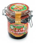 Wild Strawberry Preserve (Varenie Iz Zemlyaniki Lesnoy), 14oz/400g, Product of Belarus