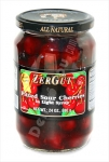 """ZerGut"", Pitted Sour Cherries in Light Syrup, 24oz/680g"