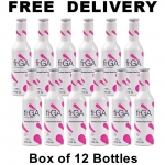 fi.GA, Fiori Di GUARANA, Guarana Fruit Fusion, Functional Drink, Box of 12 Bottles, 12x9.3fl oz/275ml, Product of Italy, Free Delivery