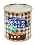 "Condensed Milk with Coffee ""Molochnaya Strana"", 380g"