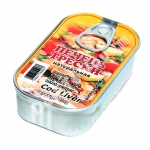 Canned Cod Liver, Ireland, 121g