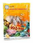 "AV Deliciious Dried Fish, ""Gold Fish"""