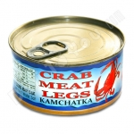 Crab Meat Legs, Kamchatka, 5.3oz/150g, Product of Russia