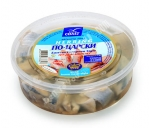 """Baltic Coast"", ""Po Tsarski"" Atlantic Herring Fillet in Oil, 17.5oz/500g"