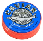 "Black Caviar, Sturgeon, ""Malossol"", Metal Tin, 4oz(113g)"