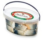 """ZIP"", Smoked Herring Fillet in Oil, 21.1oz/600g"
