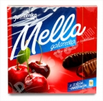 """Jutrzenka"", Mella, Galaretka, Jelly in Chocolate, Chocolate-Coated Cherry Jelly, 6.7oz/197g, Product of Poland"
