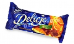 Delicje Orange Polish Cookies, 5.19oz/147g