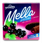 """Jutrzenka"", Mella, Galaretka, Jelly in Chocolate, Chocolate-Coated Blackcurrant Jelly, 6.7oz/197g, Product of Poland"