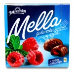"""Jutrzenka"", Mella, Galaretka, Jelly in Chocolate, Chocolate-Coated Raspberry Jelly, 6.7oz/197g, Product of Poland"
