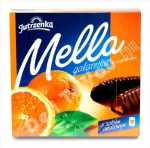 """Jutrzenka"", Mella, Galaretka, Jelly in Chocolate, Chocolate-Coated Orange Jelly, 6.7oz/197g, Product of Poland"