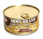 """Square"", Sergeant's Pork Pate, Army Brand, Product Of Poland, 10.22oz/290g"
