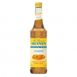 Monin Sugar Free Caramel Syrup, 25.4fl oz/750ml, Product of France