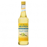 Monin Sugar Free French Vanilla Syrup, 25.4fl oz/750ml, Product of France