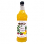 Monin Chipotle Pineapple Syrup, 33.8fl oz/1L, Product of France