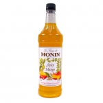 Monin Spicy Mango Syrup, 33.8fl oz/1L, Product of France