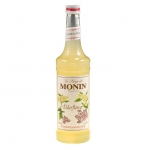 Monin Elderflower Syrup, Premium Gourmet Syrup, 25.4fl oz/750ml, Product of France