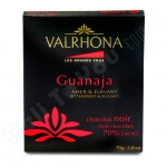 Valrhona, Guanaja, Grand Cru Abinao Bar, 70% Cacao, Bitter Sweet Dark Chocolate, 2.46oz/70g, Product of France
