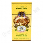Mazet, Dark Praslines Chocolate Bar, 3.5oz/100g, Product of France