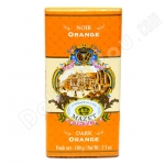 Mazet, Dark Orange Chocolate Bar, 3.5oz/100g, Product of France