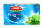 """Deluxe"", Fresh Taste, Peppermint Tea, 25 bags, 1.32oz/37.5g"