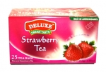 """Deluxe"", Fresh Taste, Strawberry Tea, 25 bags, 1.32oz/37.5g"