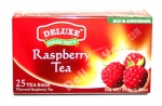 """Deluxe"", Fresh Taste, Raspberry Tea, 25 bags, 1.32oz/37.5g"